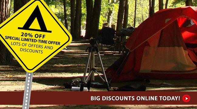 Big discounts online